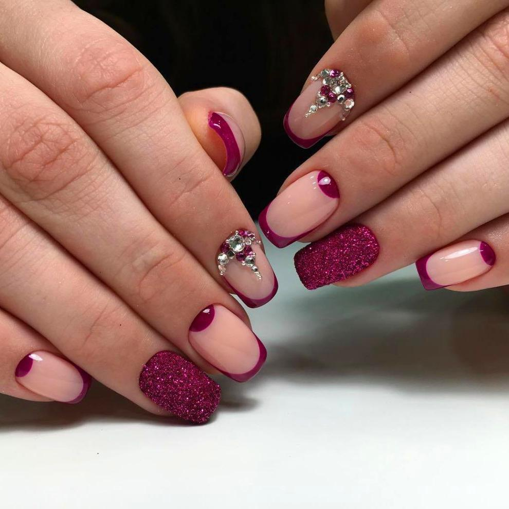 50 Winter Acrylics Short Nail Designs To Try This Season