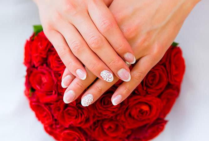 38 Amazing Wedding Nail Art Ideas for 2019
