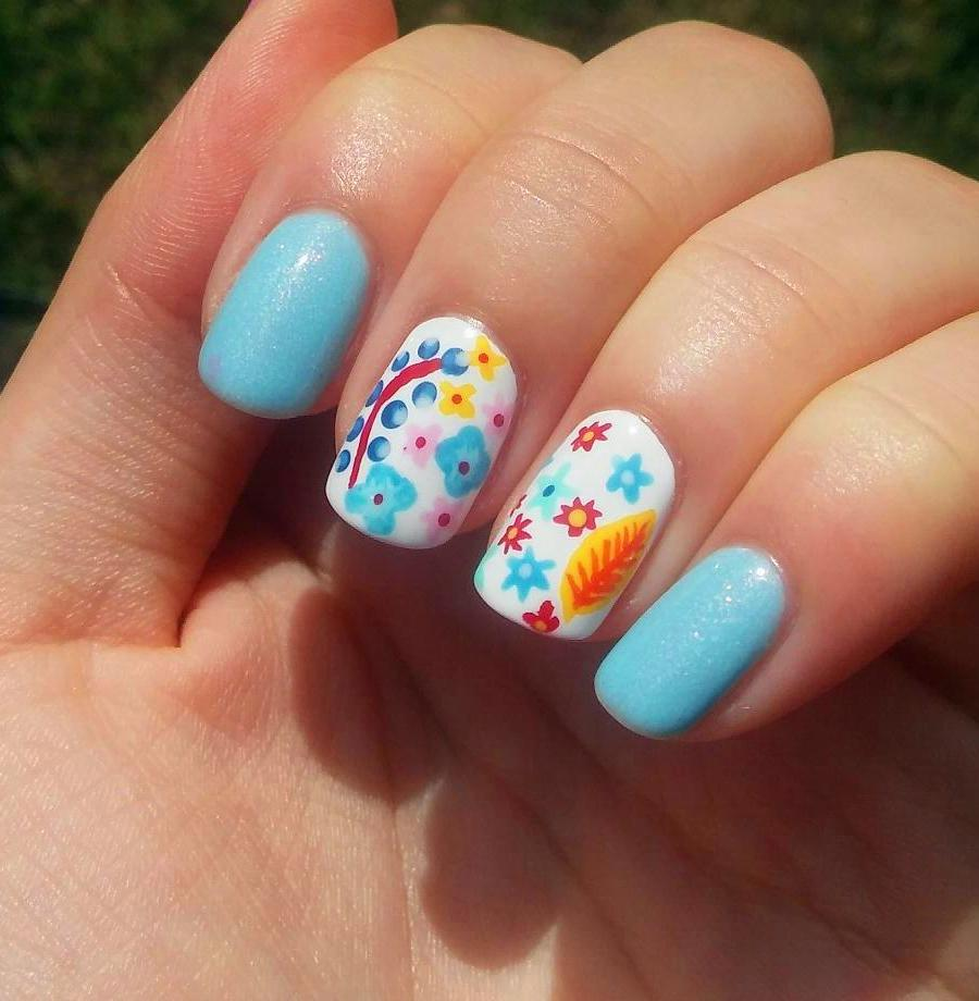 50+ Abstract Nail Art Designs You're Going To Love