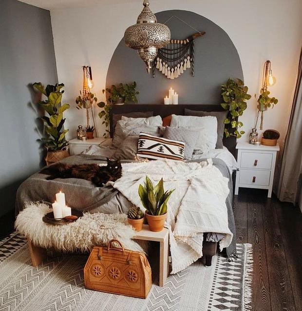cozy grey and white bedroom ideas; bedroom ideas for small rooms; bedroom decor on a budget; bedroom decor ideas color schemes #bedroomdecor #homedecor