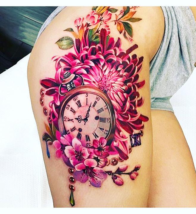 Small watercolor tattoos; flower tattoos; sleeve tattoos; shoulder watercolor tattoos; watercolor tattoos for women; floral watercolor tattoos.