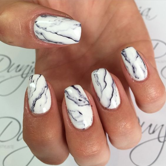 55 Easy And Stripes Nail Art Ideas and Designs