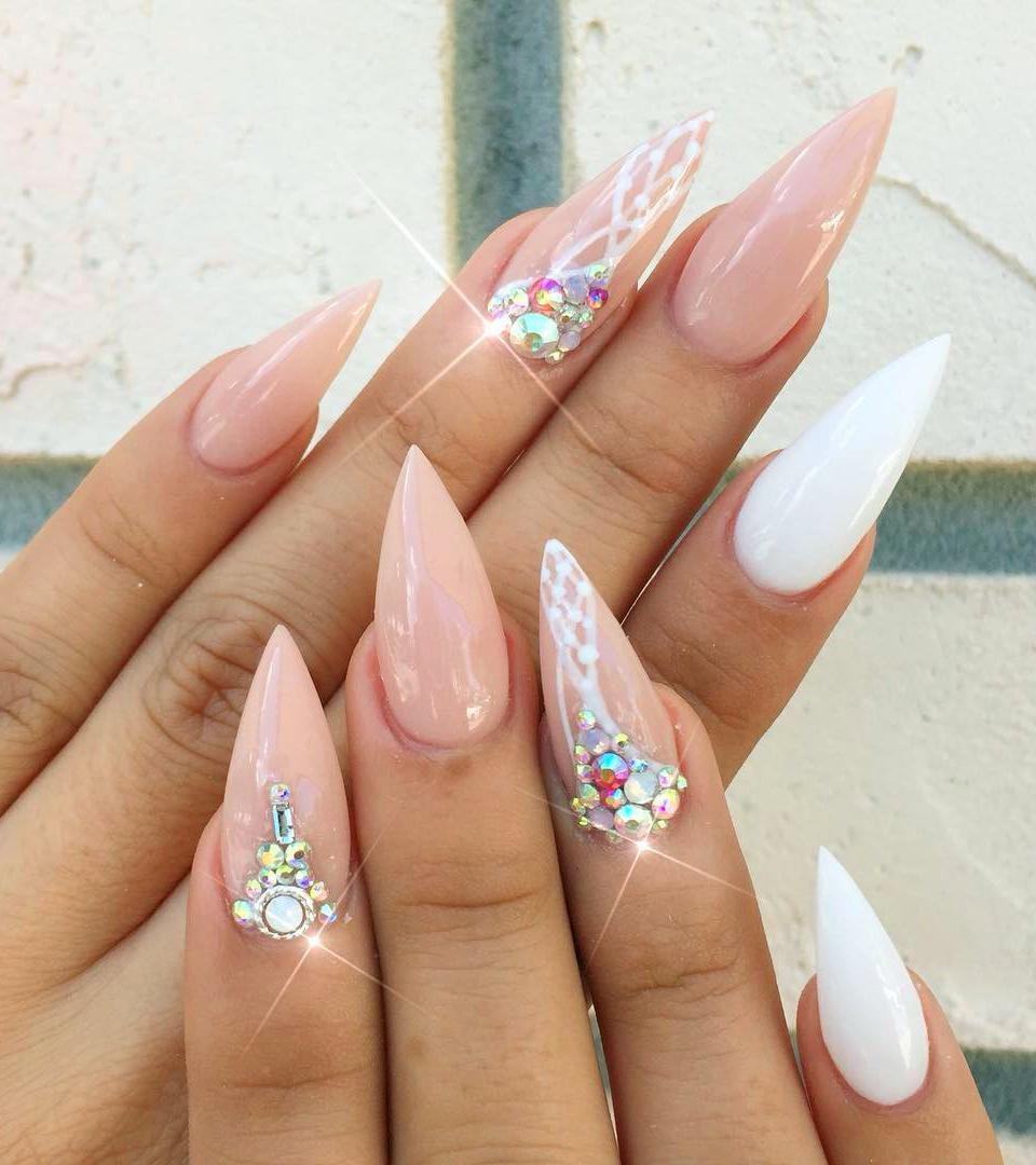 56 Trendy Acrylic Nail Art Designs to Inspire You