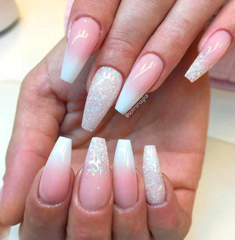40+ Best Ombre Nails Art Designs and Ideas For 2019