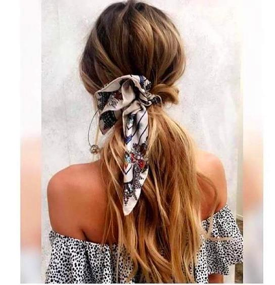 40 Cute Bandana Hairstyles for Cool Girls