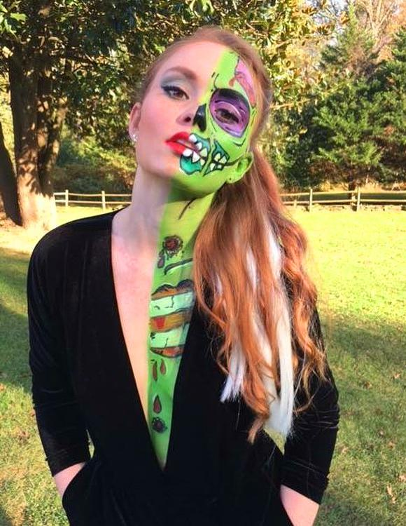 60 Best Halloween Makeup Looks That Are Creepy Yet Cute