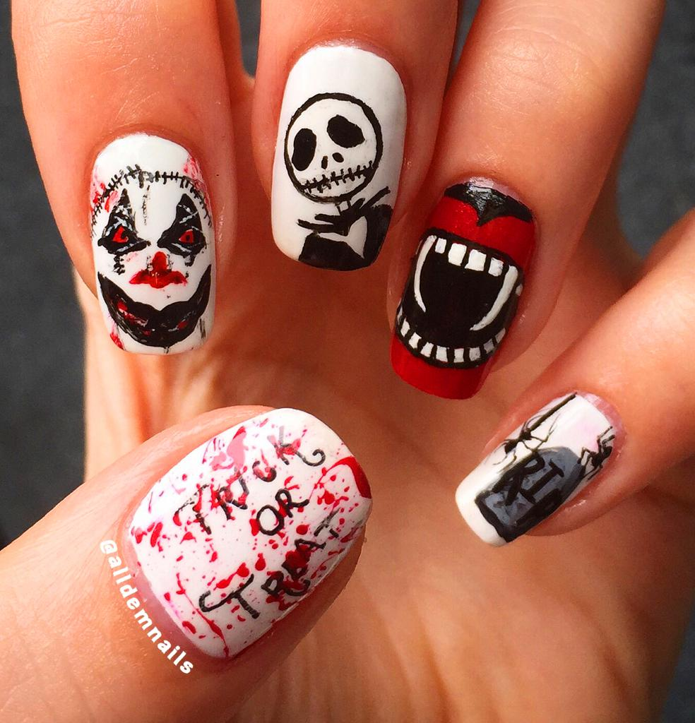 70 Best Halloween Nail Art Designs And Ideas You Will Like