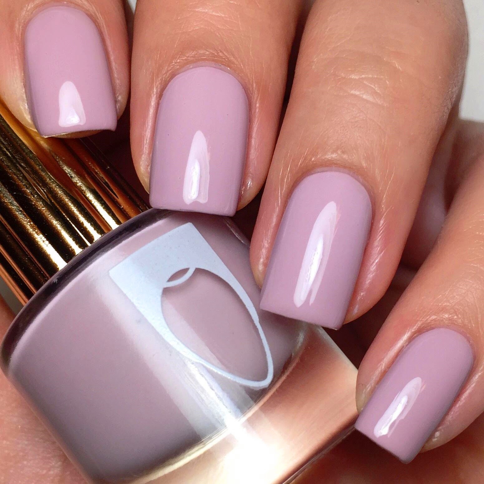 20 Mauve Nail Art Designs You Will Like