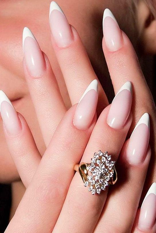 28 Amazing Stiletto Tip Nail Designs That You'll Love