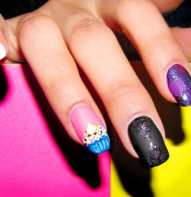 40 Trendy Nail Art Designs For Short Nails 2019
