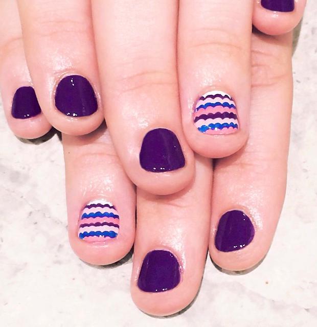 40 Trendy Nail Art Designs For Short Nails 2019