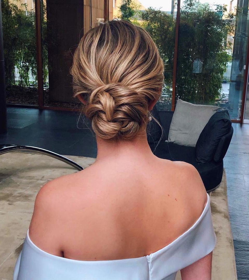 60 Trendiest Updos for Medium Length Hair