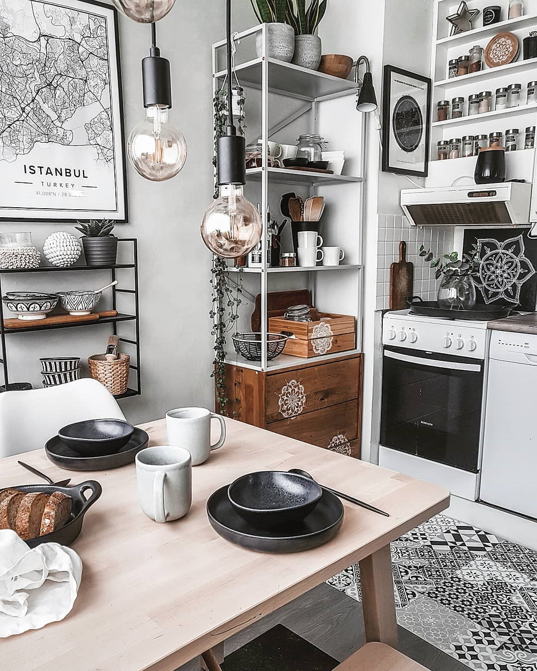 60 Creative Small Kitchen Design And Organization Ideas  #kitchens #kitchendesign #kitchenorganization #SmallKitchen