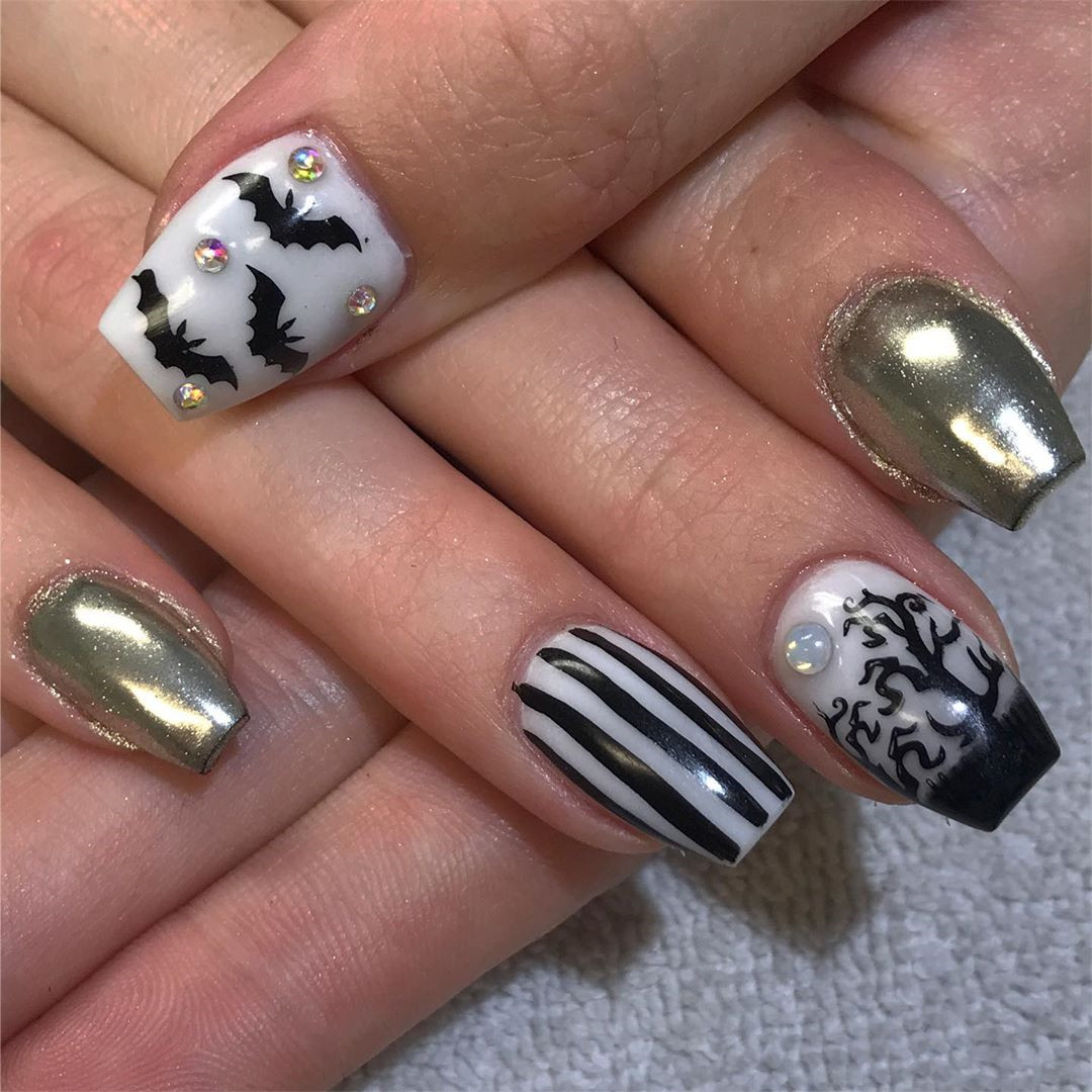 50 Best Halloween Nails Art Design for You