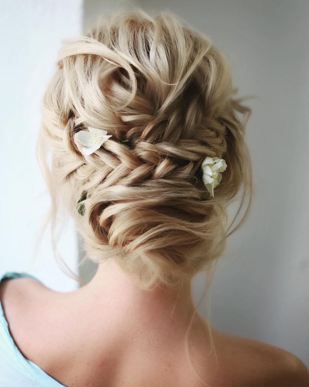 46 Gorgeous Updos Wedding Hairstyles ideas