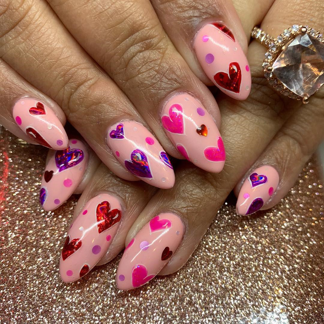 50 Cool Nail Designs for Almond Shaped Nails