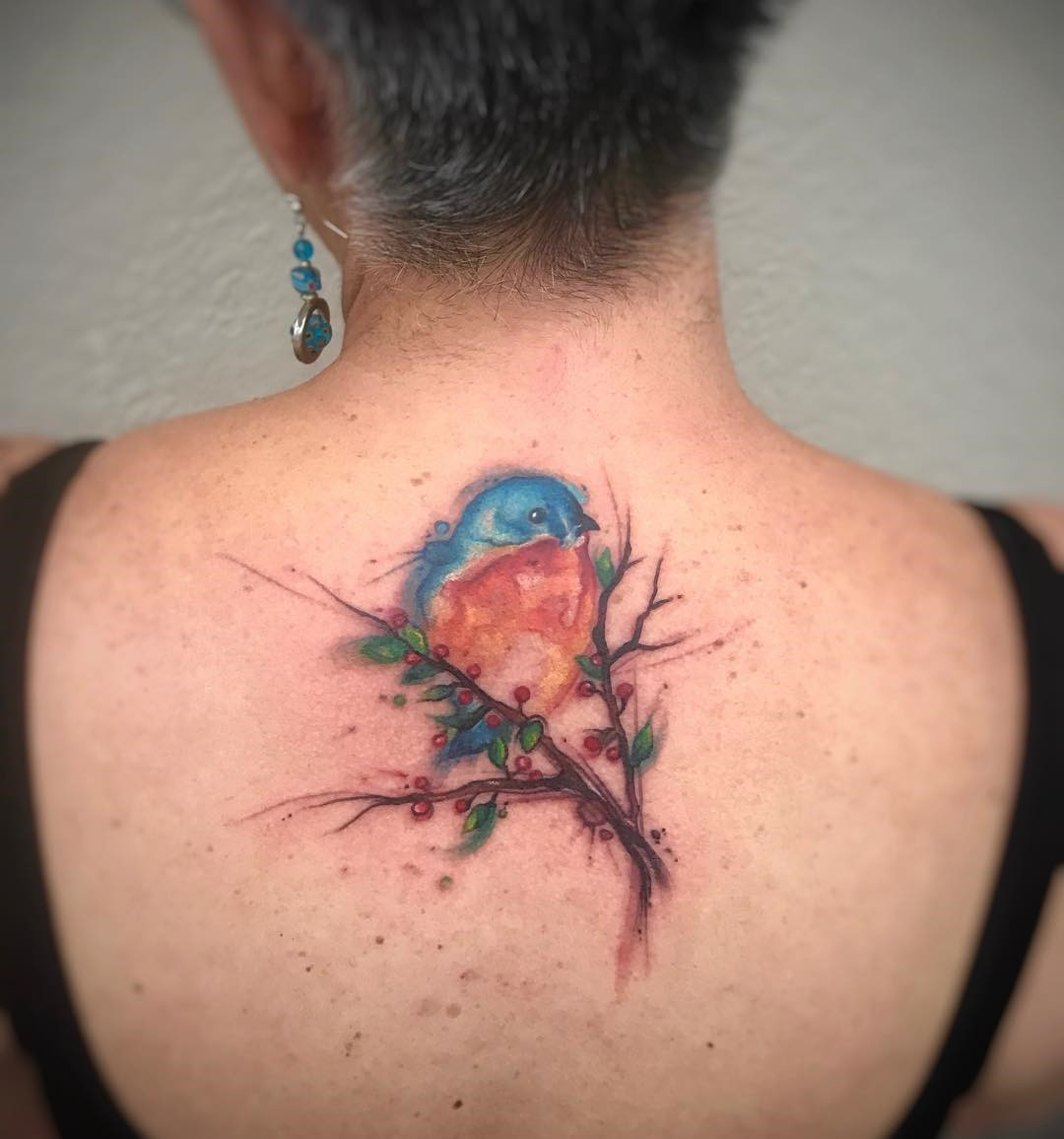 60+ Stunning Watercolor Tattoo Ideas for Women