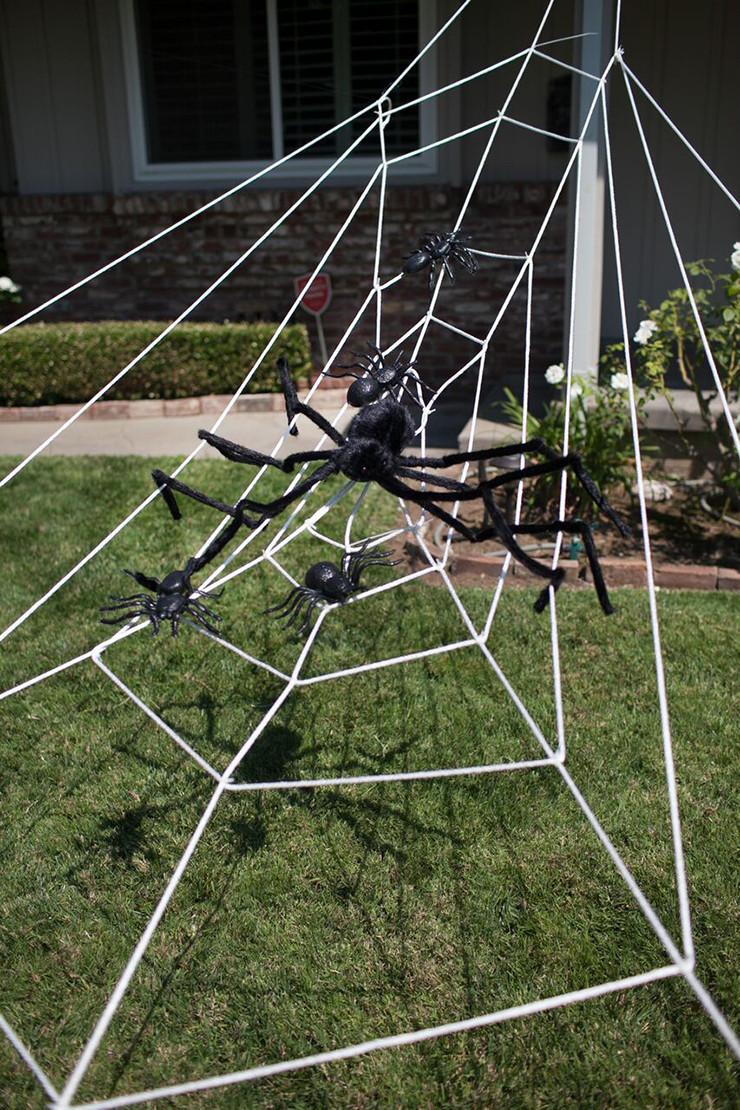 45 DIY Spider Halloween Decoration Ideas