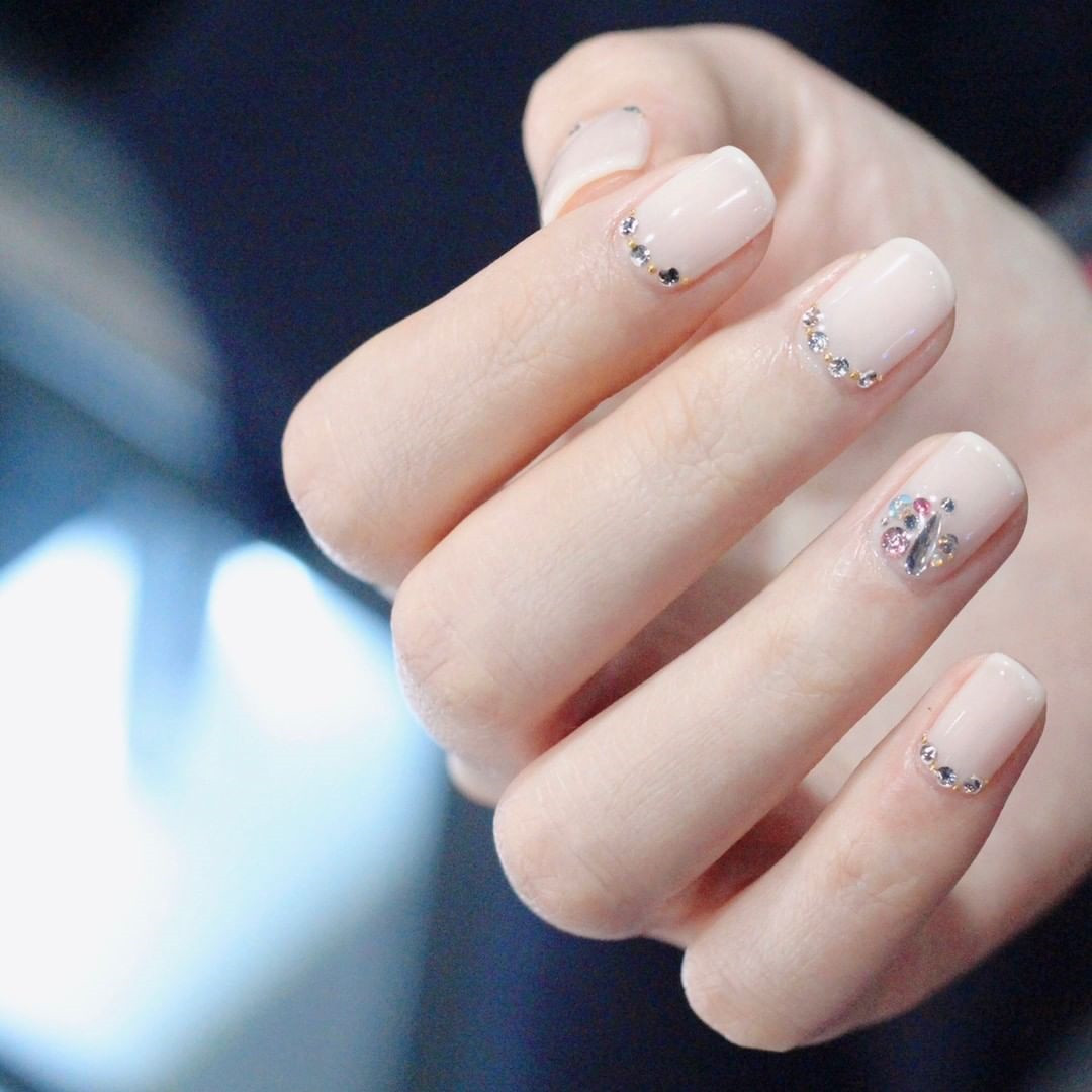 55 Short Powder Nails Color Designs That You Have to Try