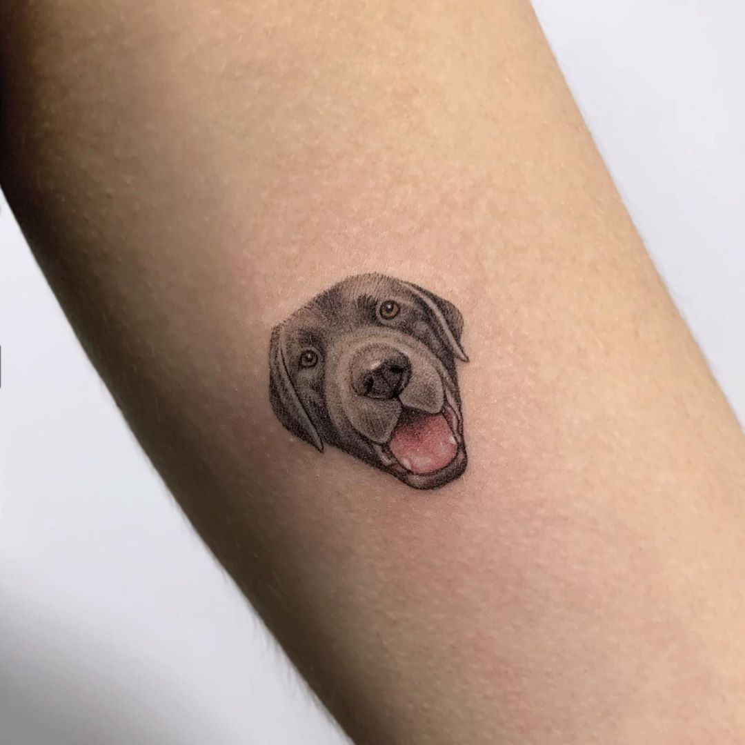 26 Cute Dog Tattoos Ideas For Dog Lovers