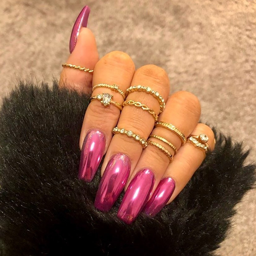 Kylie Jenner Inspired Nails To Try This Season,nailinspo,nailsdone,nailsdid,nails,nailblogger ,nailfie,acrylicnails ,fallnails,Coffin nails,marblenails ,nail2inspire,ivynailss,nailsinla,nailartist,kyliejennernails