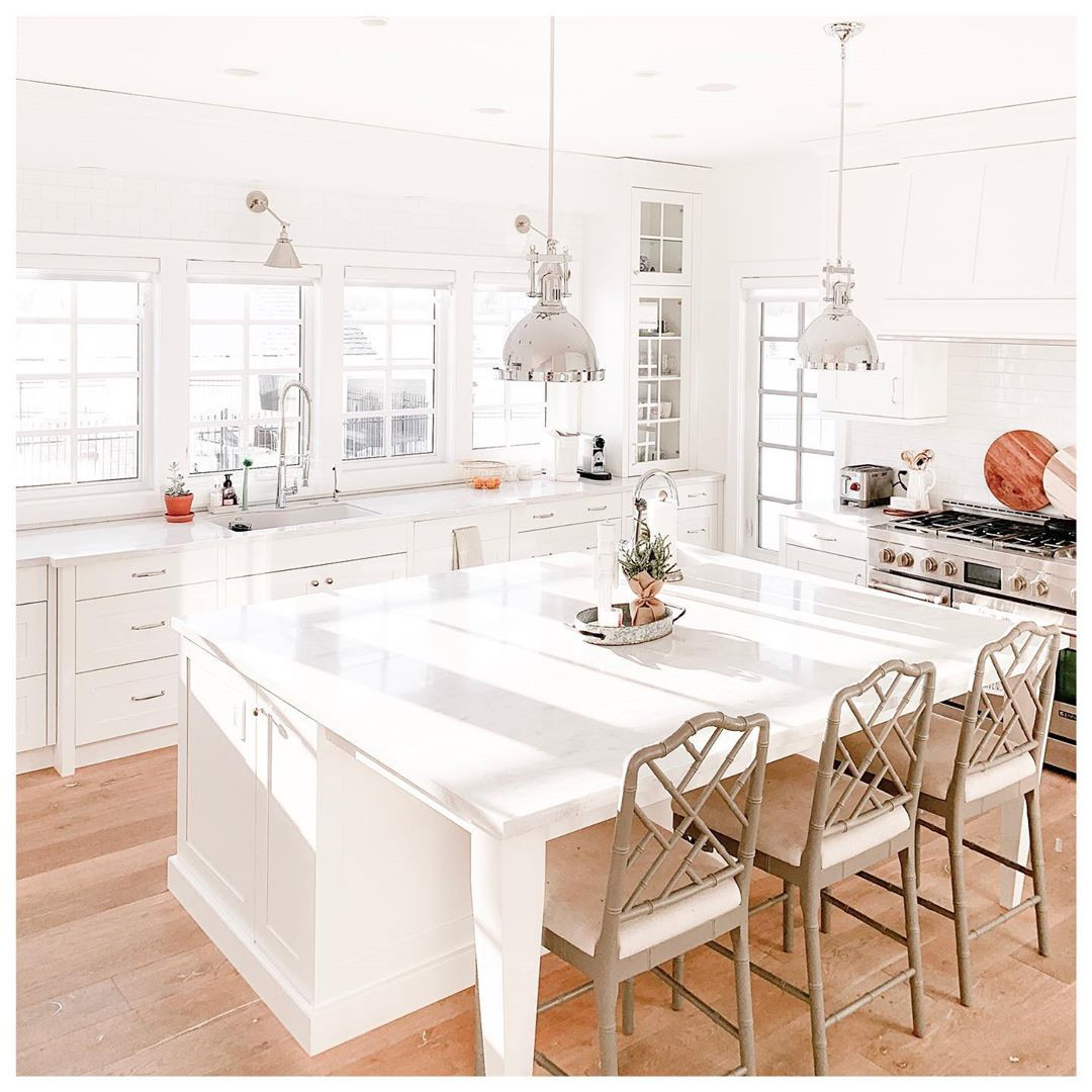 36 Gorgeous White Kitchens with Timeless Appeal