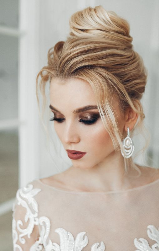 35 Beautiful Wedding Makeup Looks