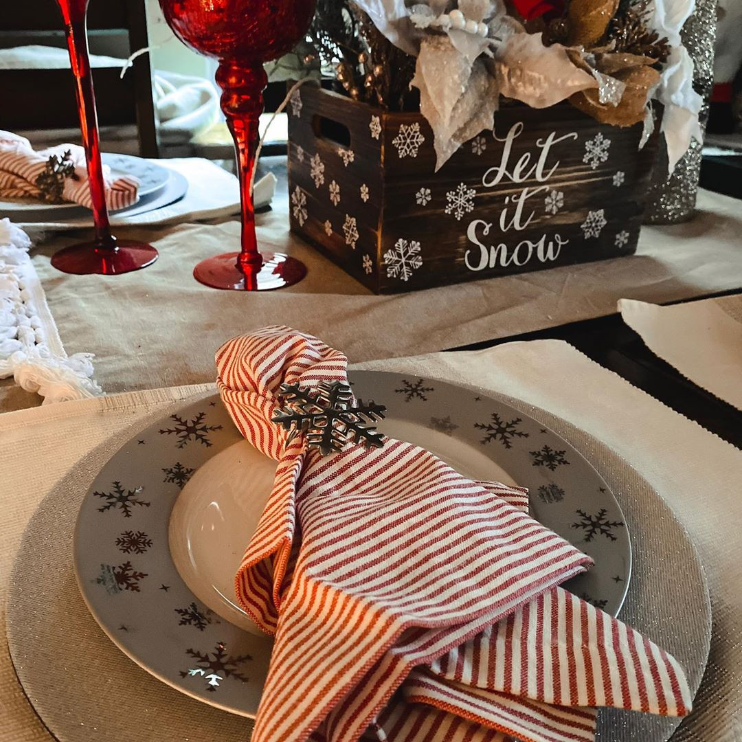 38 Elegant Christmas Table Setting Ideas