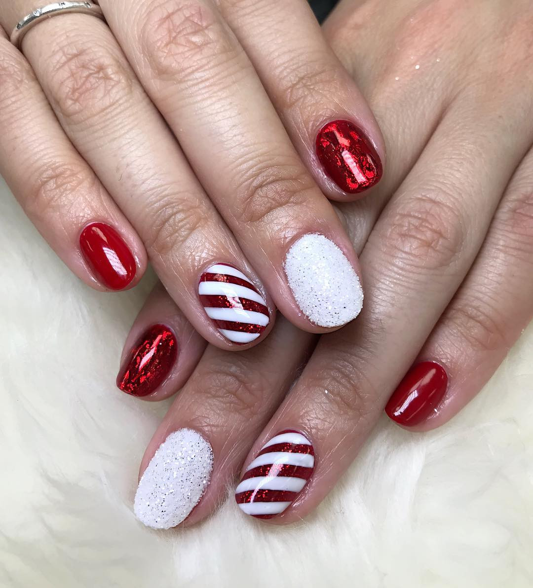 Winter Nails Designs to Spice up Your Routine,winter nails,winter nails 2019,winter nails colors,winter nails coffin,#winternails