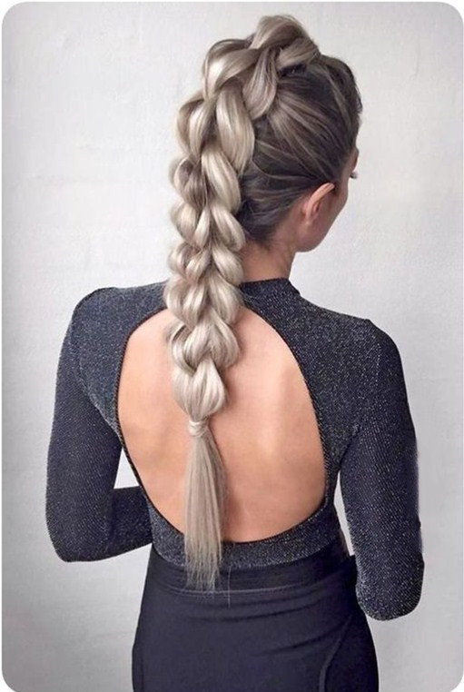 28 Gorgeous Multiple braids Hairstyles for Women in 2020