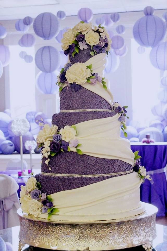 42 Best Purple Wedding Cakes ideas You Want Tried Yet