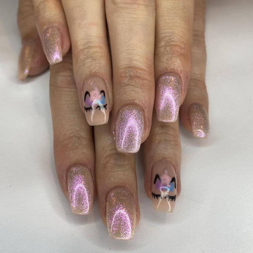 38 Magical Unicorn Nail Designs You Will Go Crazy For