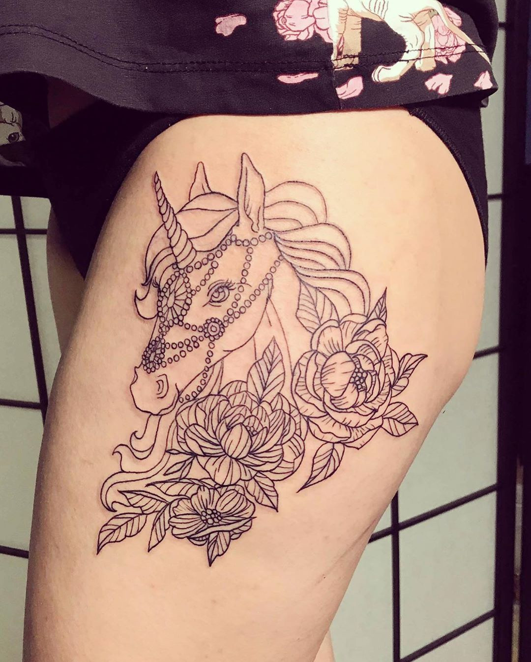 52 Intriguing Unicorn Tattoos Designs,Unicorn tattoo designs are whimsical and happy. The evoke a sense of euphoria that's enchanting and enticing to both the artist, the canvas and the onlooker.