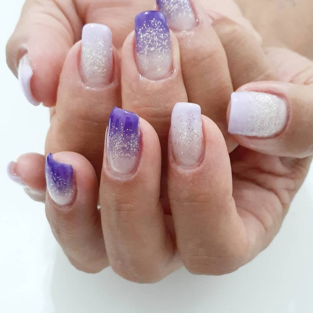58 Gorgeous Purple Nail Ideas and Designs To Inspire You,#PurpleNail purple nail designs 2020,light purple nail designs,purple nail designs 2019