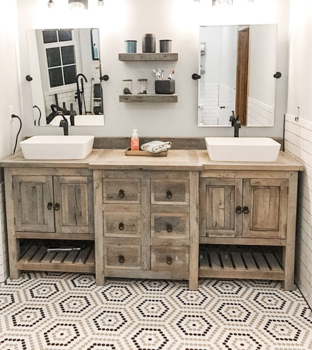 52 Rustic Bathrooms That Will Inspire Your Next Makeover