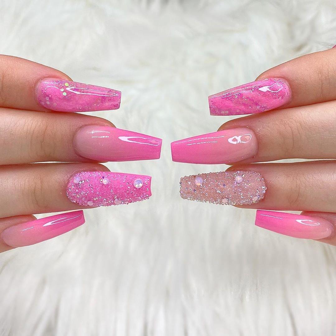 65 Fierce Stiletto Nails To Copy in 2020,stiletto nails short,stiletto nails long,stiletto nails ombre,stiletto nails design