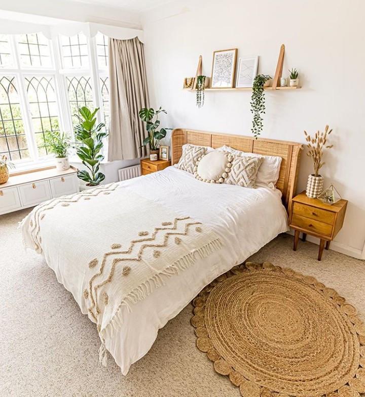 55 Absolutely breathtaking farmhouse style bedroom ideas
