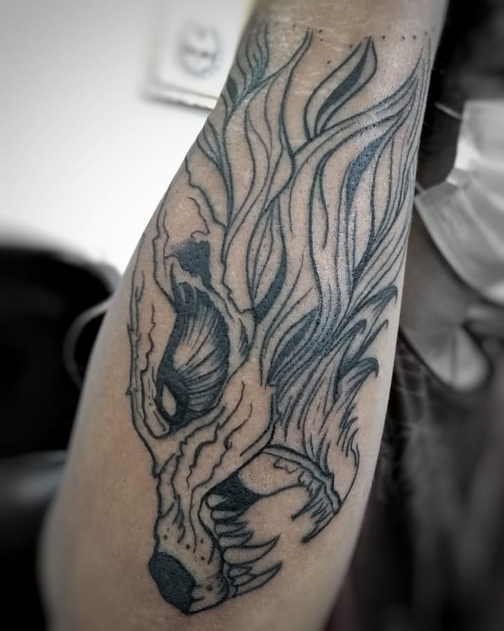 The 50 Best Wolf Tattoos for Men,wolf tattoos for females,wolf tattoo forearm,wolf tattoos meaning,wolf tattoo design