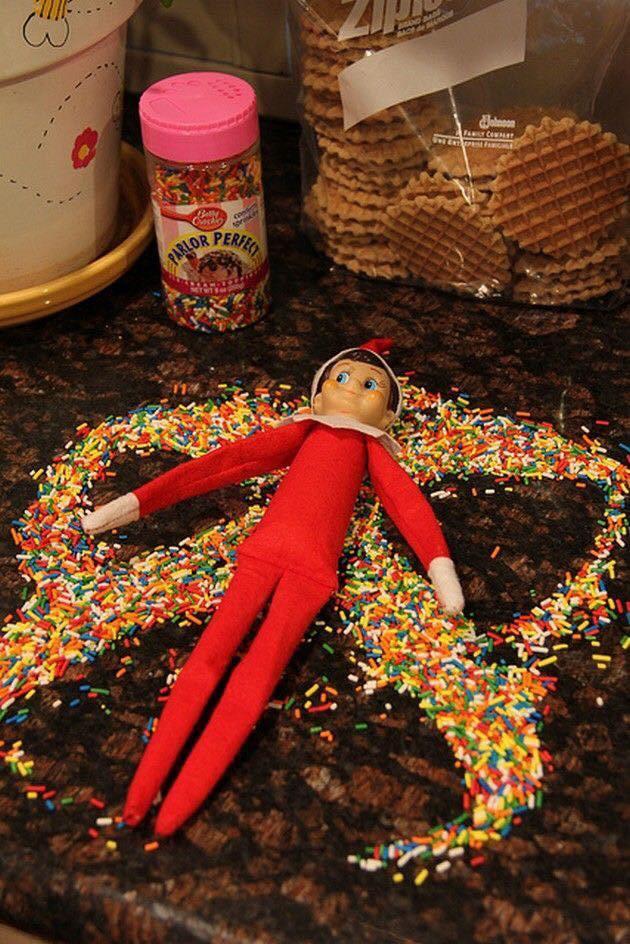 50 Funny Elf on the Shelf Ideas to Make Your Kids,#Elf #elfontheshelfideas